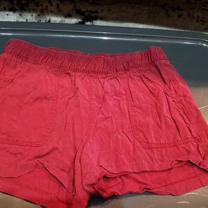 Old Navy Red Shorts